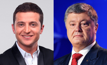 Zelensky and Poroshenko win first leg of elections as of 8 p.m., - 112 Ukraine Exit Poll