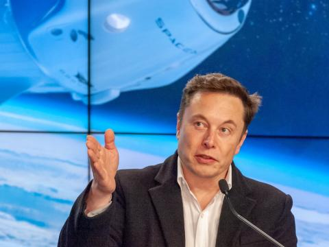 Elon Musk says he'd happily ride SpaceX's new Crew Dragon spaceship a?? 'I think it's a good vehicle'