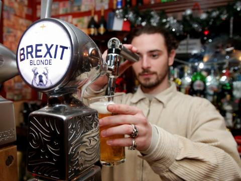 A major British pub chain's chairman used its earnings statement to rant about Brexit, 'the establishment,' and 'doomsters'