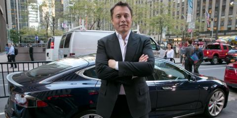 Elon Musk praises Tesla's rivals for finally building electric cars (TSLA)