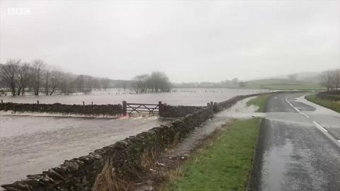 Flood warnings issued across UK after rain