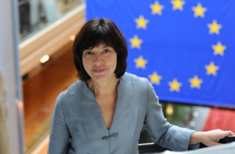 MEP Rebecca Harms travels to Ukraine to observe elections