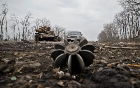 Russian mercenaries shell occupied localities in Donbas on March 21-25