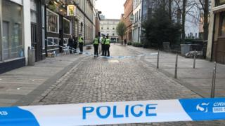 Man 'critical' after mass street brawl in Glasgow