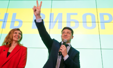 What does comedian's big win mean for Ukraine?