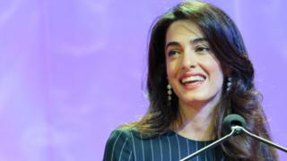 Amal Clooney appointed Foreign Office special envoy