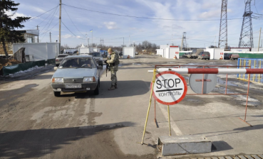 Two checkpoints closed in Donbas