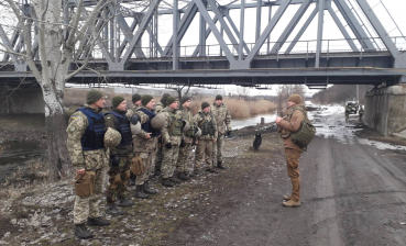 Saboteur detained in Donbas today