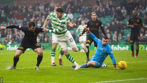 Celtic miss chance to clinch title this weekend after draw with Livi