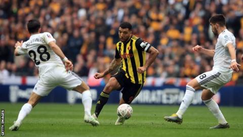 Watford captain Deeney targeted by alleged racist abuse on social media