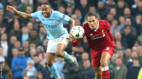 Virgil van Dijk votes for rival Raheem Sterling as PFA player of the year