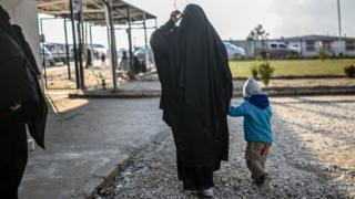 Syria: 'Small number' of children return to UK