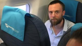 Speedboat killer Jack Shepherd flies back from Georgia