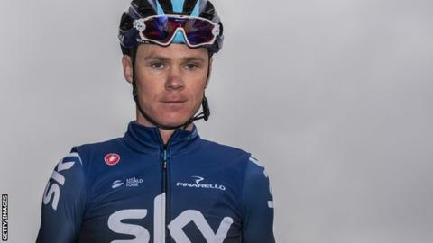 Chris Froome to compete in Tour of the Alps in Team Sky's final stage race before sponsor change