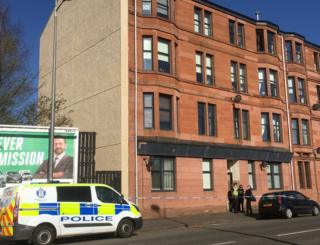 Baby girl dies after fall from flat window in Clydebank