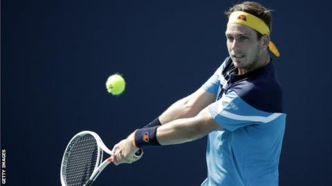 British number two Norrie loses to world No 372 Tipsarevic