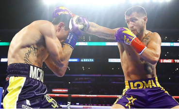 Boxing: Lomachenko breaks hand during fight against Crolla