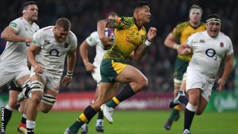 Israel Folau: Australia end player