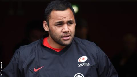 Saracens warn Vunipola over future conduct after defending Folau post