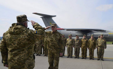 """Northern Falcon - 2019"": Ukrainian aircraft comes back home"