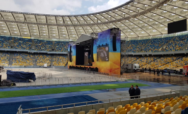 Debates at NSC Olimpiyskiy: Stadium ready to the event (photo, video)