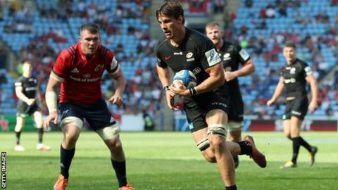 Saracens 32-16 Munster: Saracens power into Champions Cup final