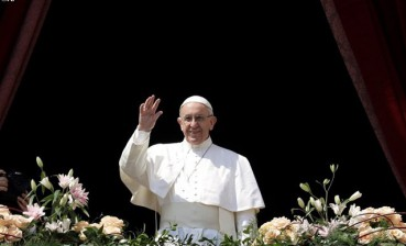 Pope mentions Ukraine in his Easter speech