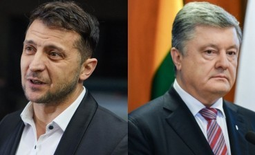 Zelensky gets 72,7% of votes, Poroshenko – 27,3 %, – 1+1 exit poll