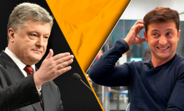 Zelensky gets 72,8% of votes, Poroshenko – 27,2%, – 1+1 exit poll