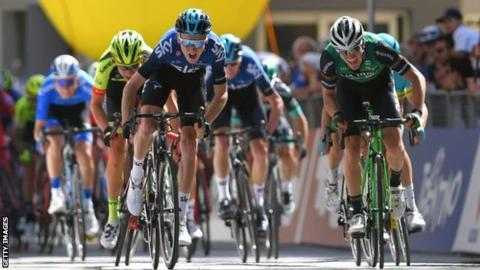 Briton Geoghegan Hart claims first victory at Tour of the Alps