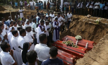 Sri Lanka attacks: Mass funeral of victims