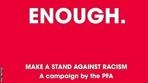 Players asked to send evidence of racist online abuse to PFA