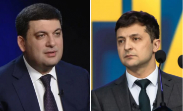 Zelensky and Groysman discuss word issues and current situation in Ukraine
