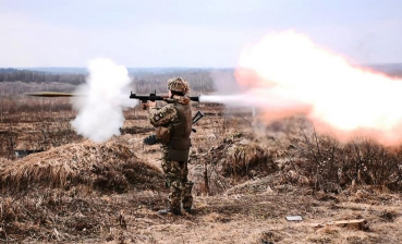 24 hours in Donbas: One Ukrainian soldier wounded