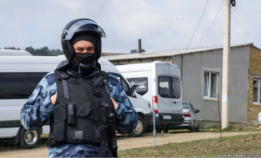 Russia raids Crimean Tatars in annexed Crimea