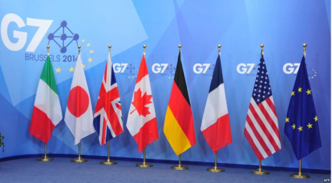 G7 foreign ministers oppose military actions in Libya