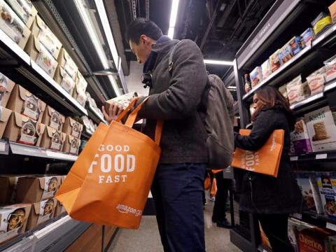 Amazon plans to start accepting cash at Amazon Go stores after reported accusations of 'discrimination and elitism' and new laws banning cashless stores (AMZN)