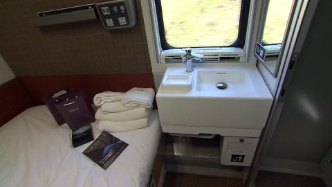 New?150m Caledonian Sleeper trains 'are hotels on wheels'