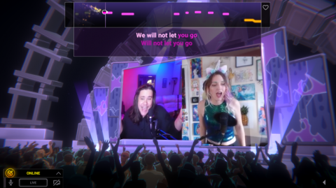 Twitch's first game, the karaoke-style 'Twitch Sings,' launches to public