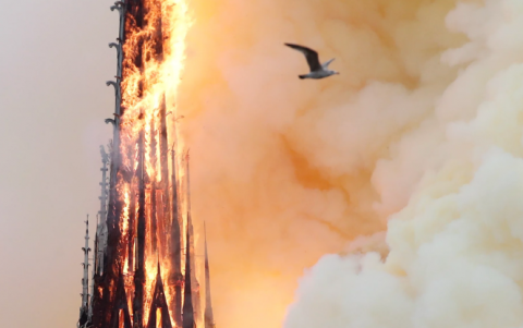 Fire at Notre-Dame: Short circuit might cause tragedy