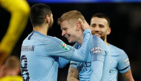 Football: Ukraine's Zinchenko makes it in top-10 of most valuable left backs aged 23 in world