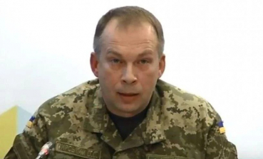 Poroshenko appoints Syrsky as Joint Forces commander