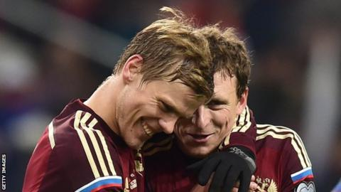 Russia internationals Aleksandr Kokorin and Pavel Mamaev jailed for hooliganism