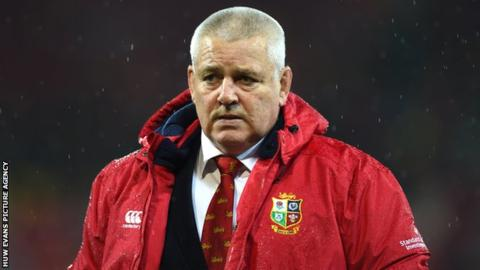 Gatland agrees to lead Lions for third time in 2021