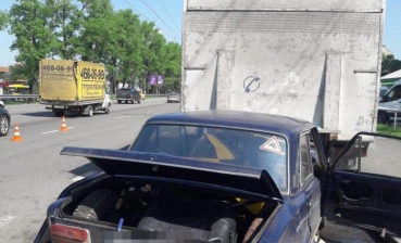Car accident occurs in Kyiv: two military died