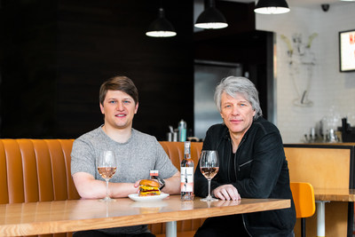 Umami Burger Announces Artist Series Collaboration With Jesse Bongiovi And Hall Of Fame Rock Legend Jon Bon Jovi, And Hampton Water To Support The JBJ Soul Foundation