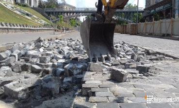 Investigation of Maidan cases is jeopardized: Cobblestone removed from Instytutska Street