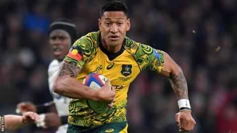 Folau sacked by Rugby Australia after hearing