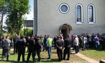 Try to seize temple took place in Chernivtsi region