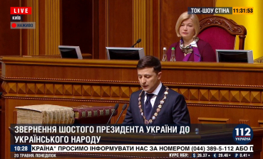 Zelensky appeals to Donbas, Crimea citizens in Russian language